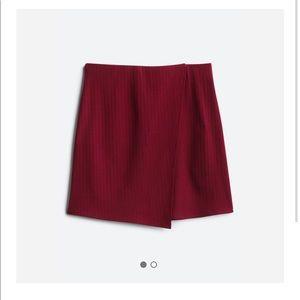 Sadie & Sage Ribbed Knit Mini Skirt